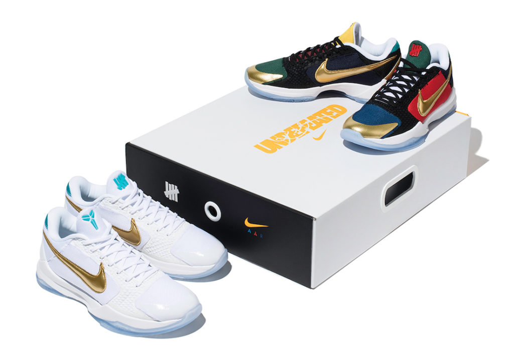 Undefeated x Nike Kobe 5 Protro What If Pack