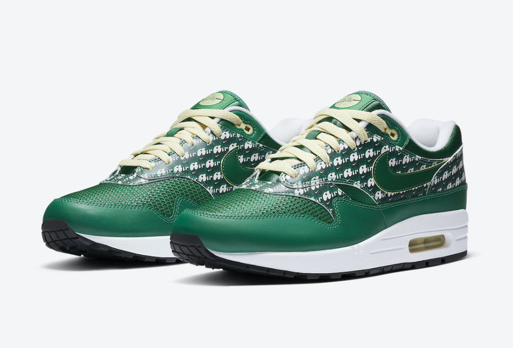 "Nike Air Max 1 Powerwall Pine Green ""Limeade"""