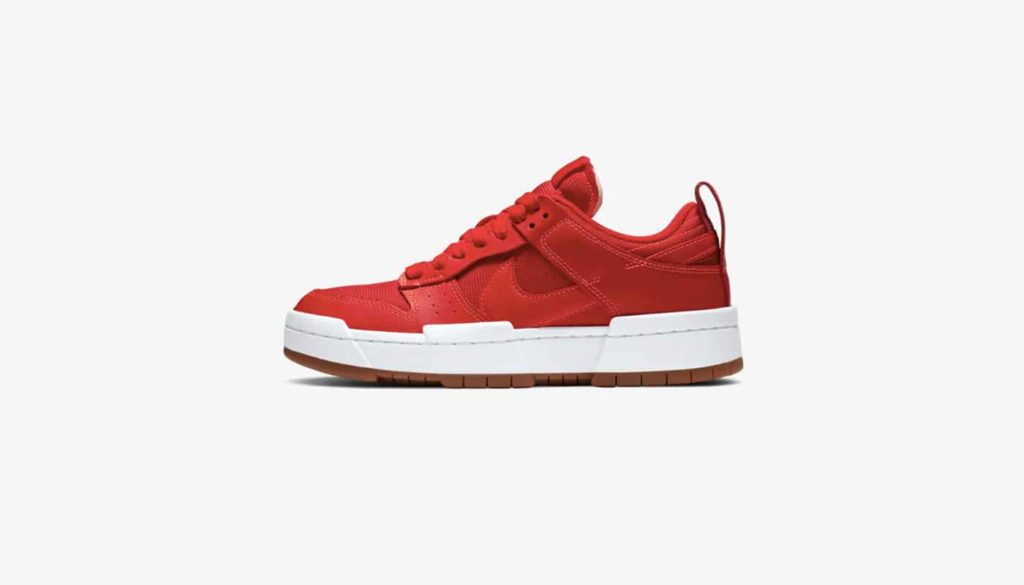 """Nike WMNS Dunk Low Disrupt """"University Red"""""""